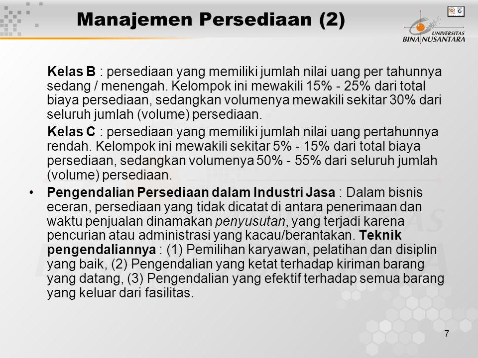 Manajemen Persediaan (2)