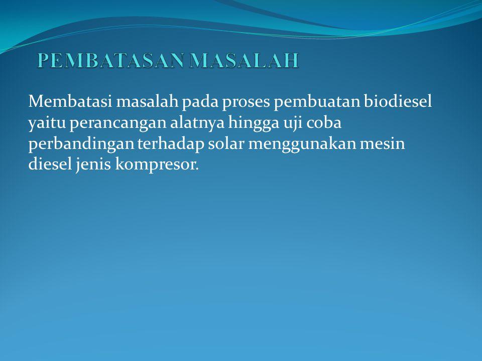 PEMBATASAN MASALAH