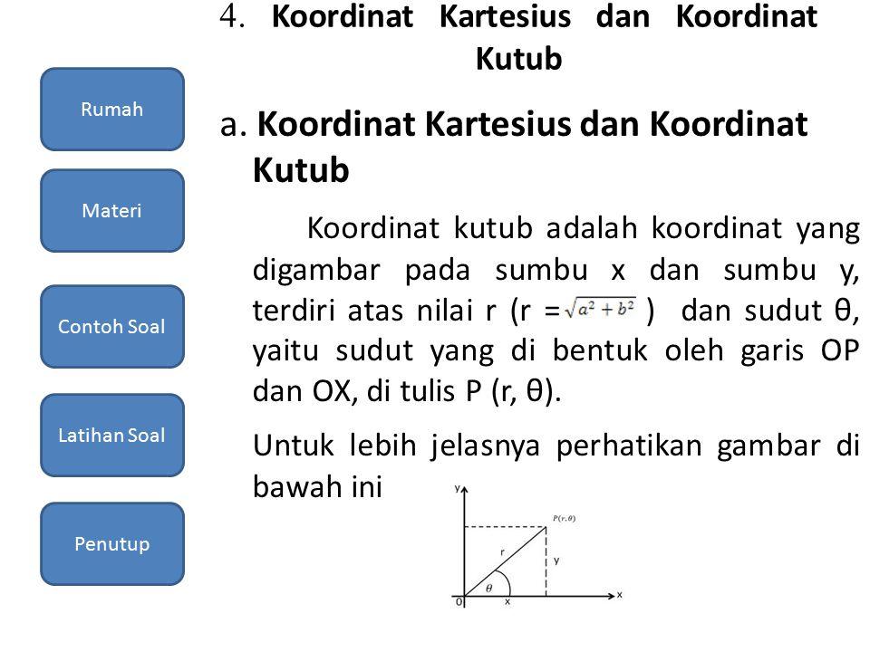 4. Koordinat Kartesius dan Koordinat Kutub