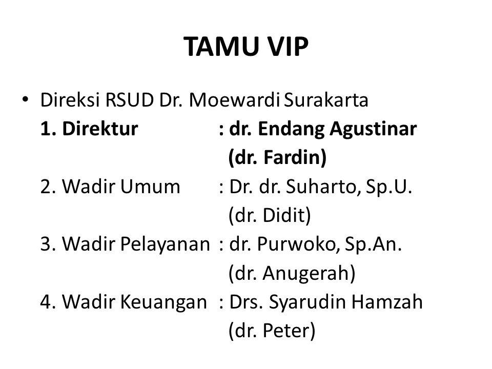 TAMU VIP Direksi RSUD Dr. Moewardi Surakarta