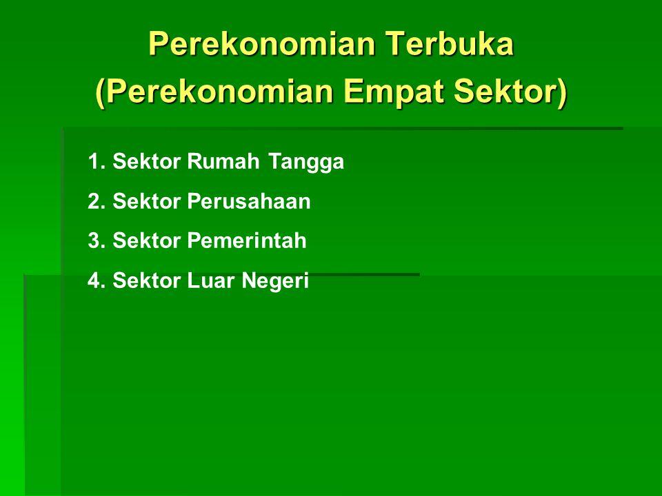 Perekonomian Terbuka (Perekonomian Empat Sektor)