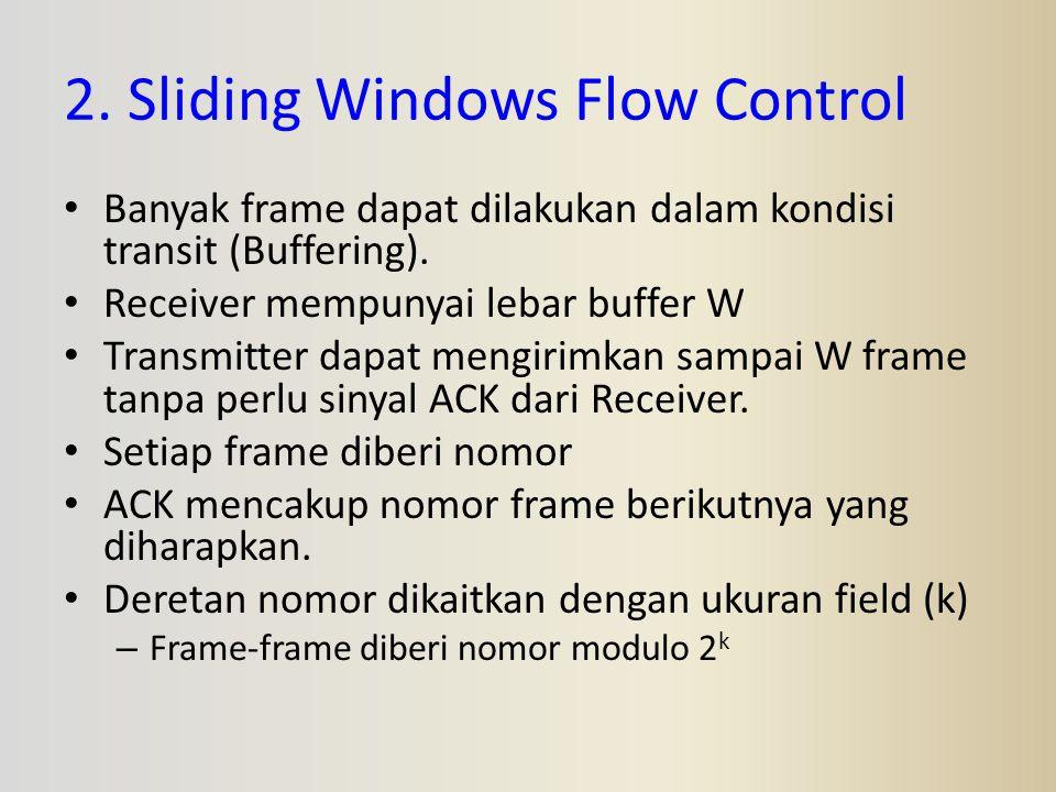 2. Sliding Windows Flow Control