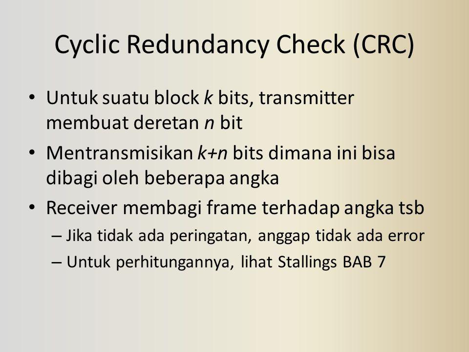 Cyclic Redundancy Check (CRC)