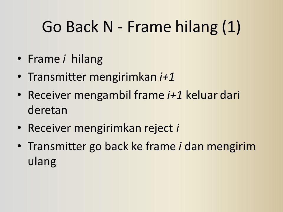 Go Back N - Frame hilang (1)