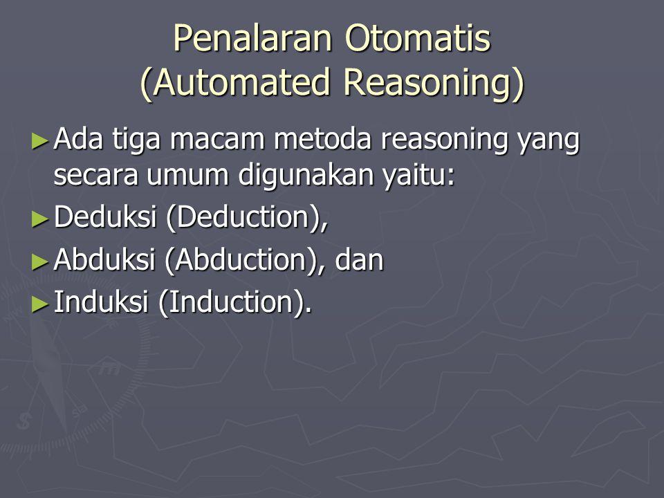 Penalaran Otomatis (Automated Reasoning)