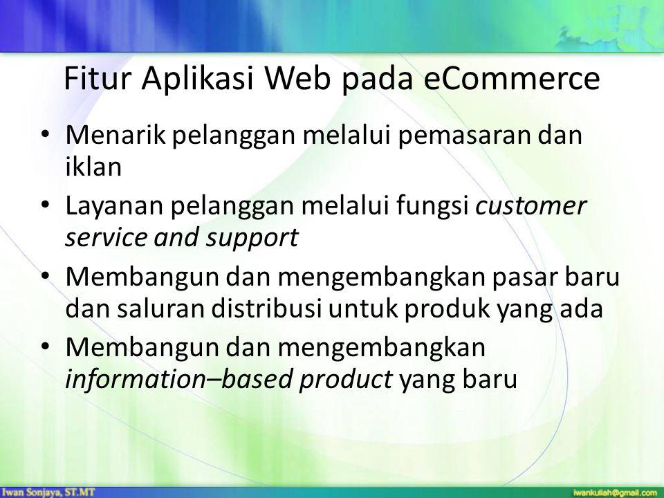Fitur Aplikasi Web pada eCommerce