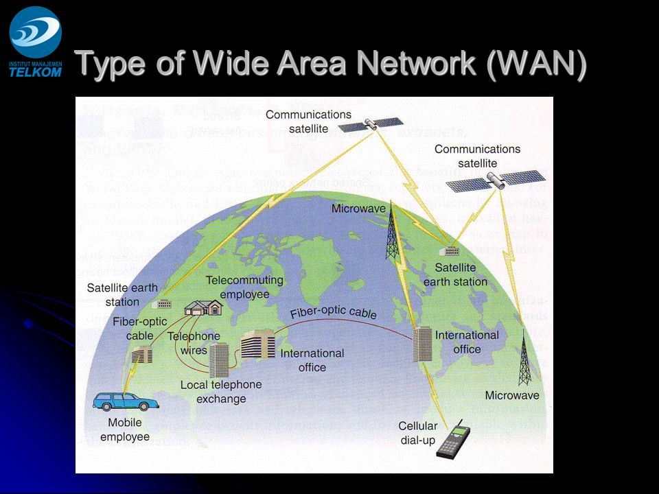 Type of Wide Area Network (WAN)