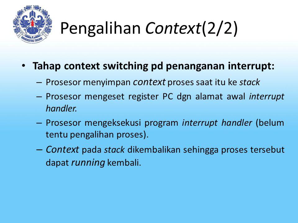 Pengalihan Context(2/2)