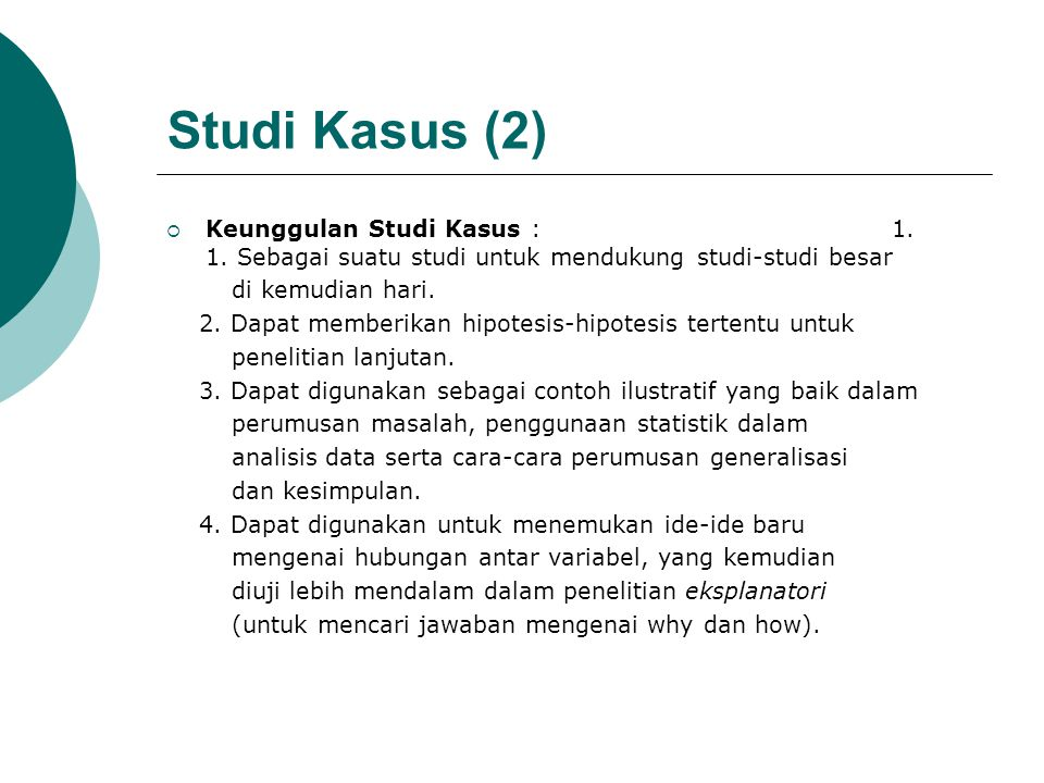 Studi Kasus (2)