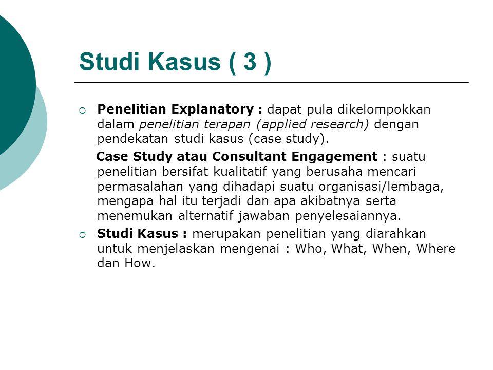Studi Kasus ( 3 )