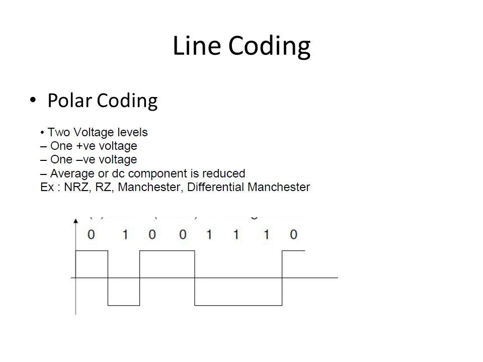 Line Coding Polar Coding