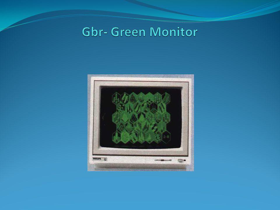 Gbr- Green Monitor