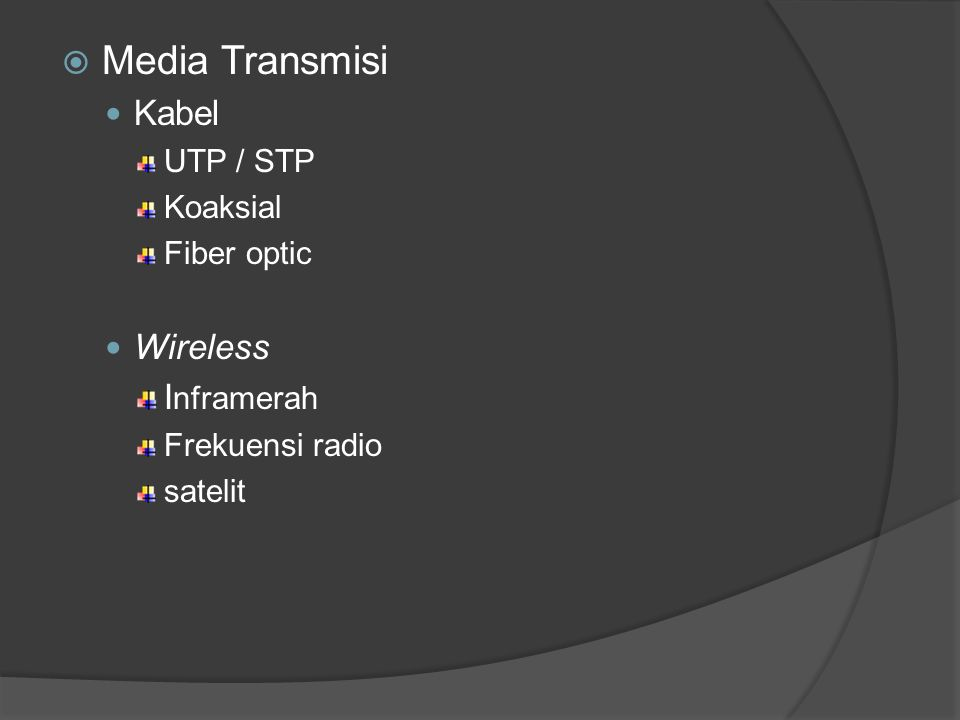 Media Transmisi Kabel Wireless Inframerah UTP / STP Koaksial