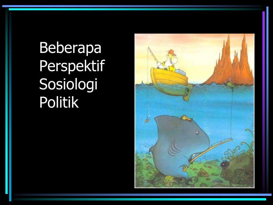 Beberapa Perspektif Sosiologi Politik