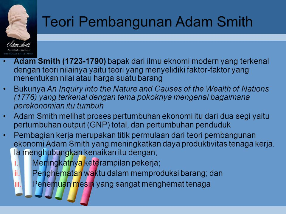 Teori Pembangunan Adam Smith