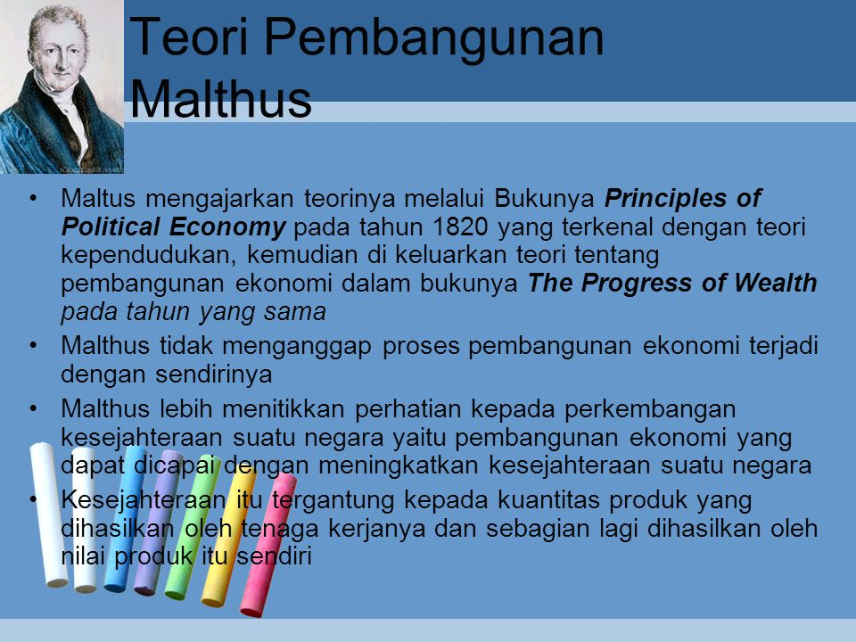 Teori Pembangunan Malthus