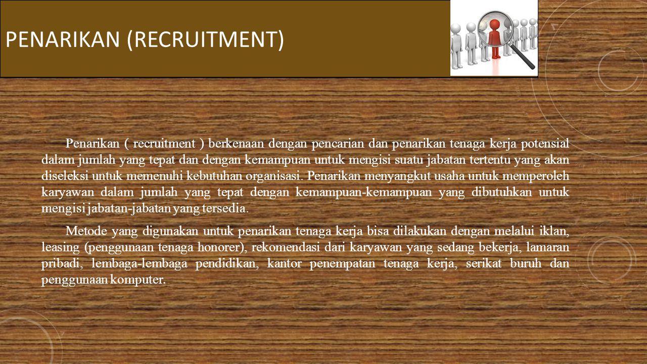Penarikan (recruitment)