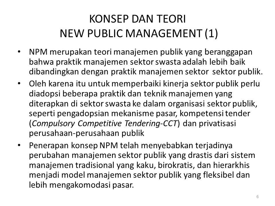 KONSEP DAN TEORI NEW PUBLIC MANAGEMENT (1)