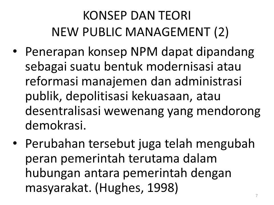 KONSEP DAN TEORI NEW PUBLIC MANAGEMENT (2)