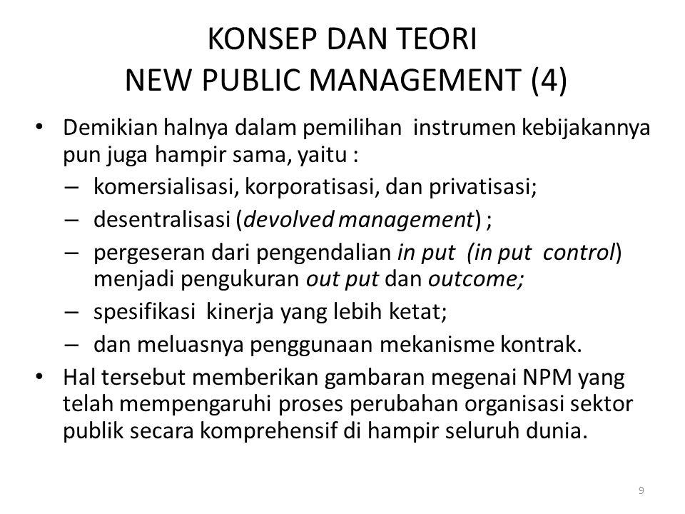 KONSEP DAN TEORI NEW PUBLIC MANAGEMENT (4)