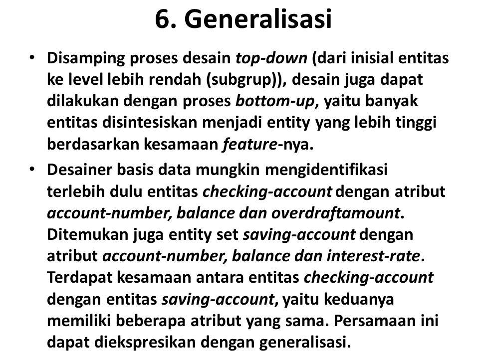 6. Generalisasi