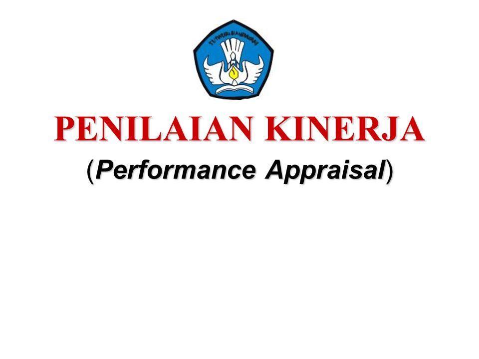 PENILAIAN KINERJA (Performance Appraisal)