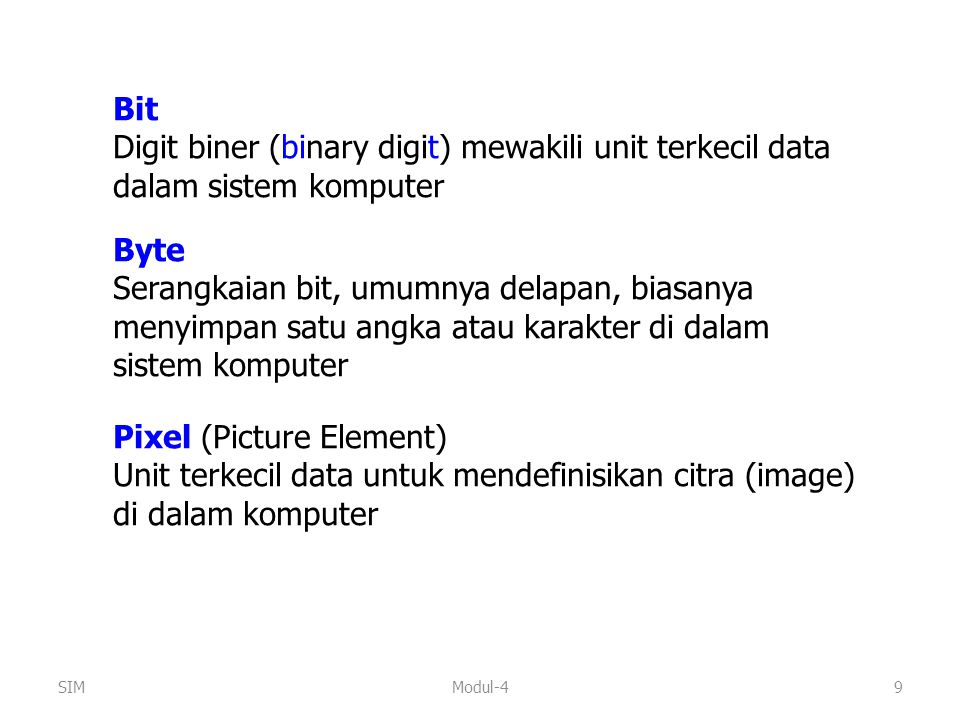 Pixel (Picture Element)