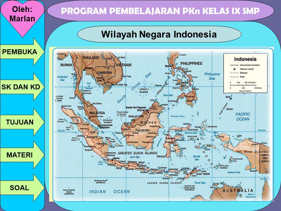 Wilayah Negara Indonesia