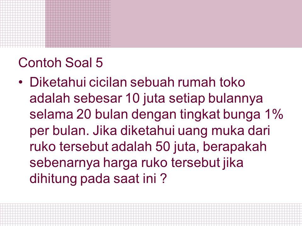 Contoh Soal 5