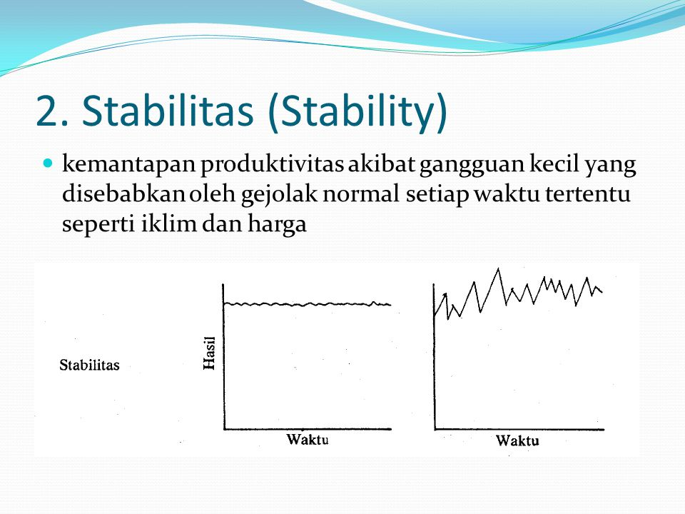 2. Stabilitas (Stability)