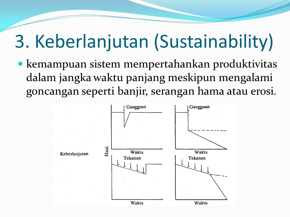 3. Keberlanjutan (Sustainability)