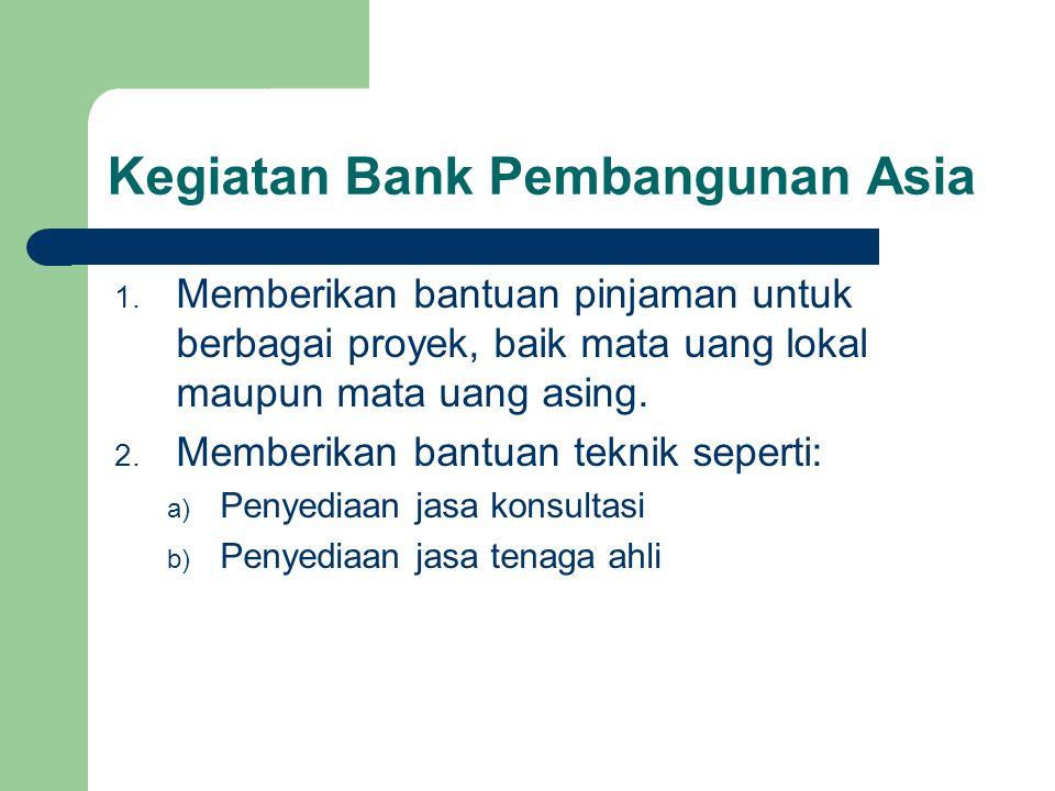 Kegiatan Bank Pembangunan Asia