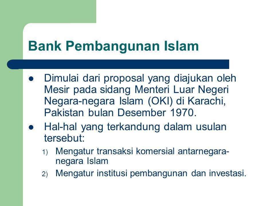 Bank Pembangunan Islam