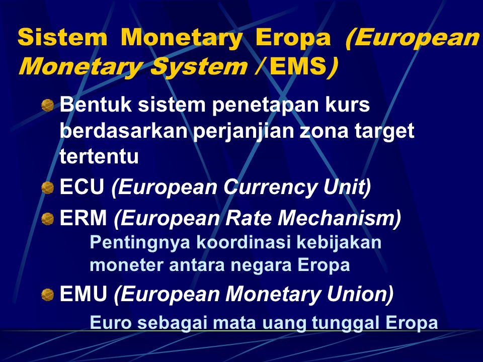 Sistem Monetary Eropa (European Monetary System / EMS)