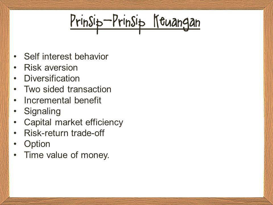 Prinsip-Prinsip Keuangan