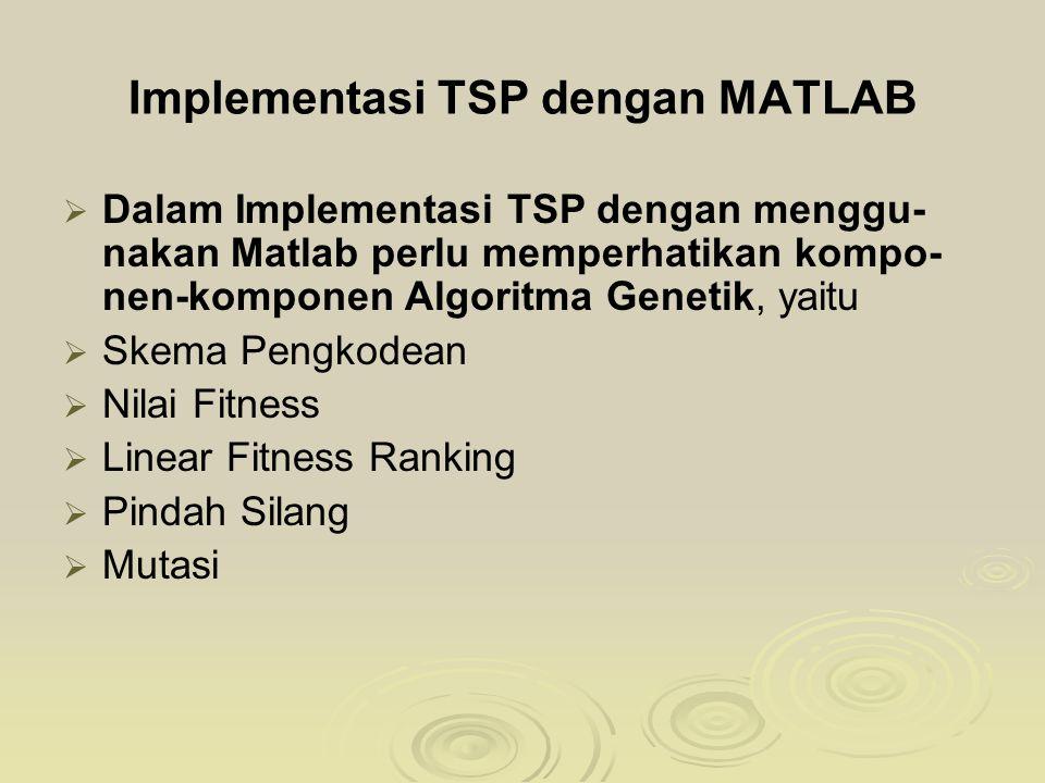 Implementasi TSP dengan MATLAB