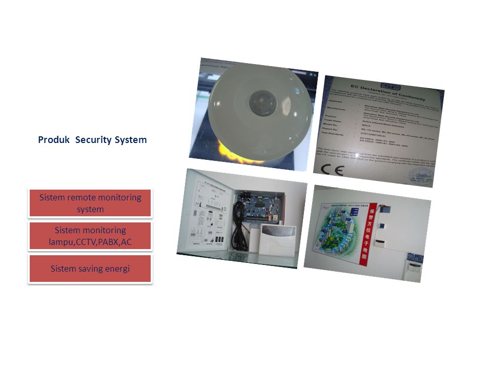 Produk Security System