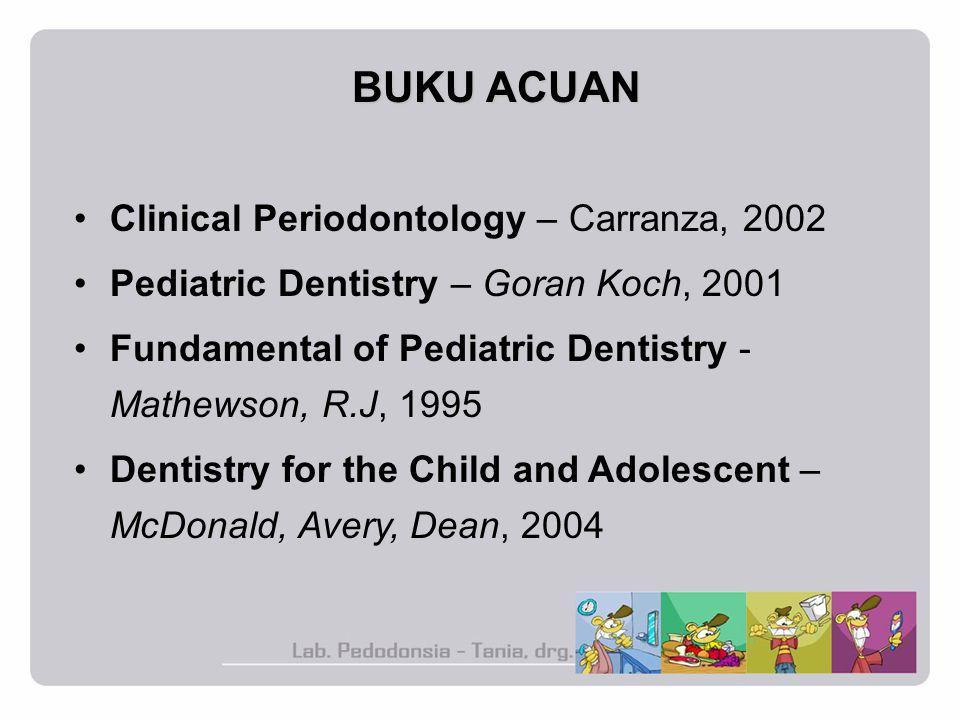 BUKU ACUAN Clinical Periodontology – Carranza, 2002