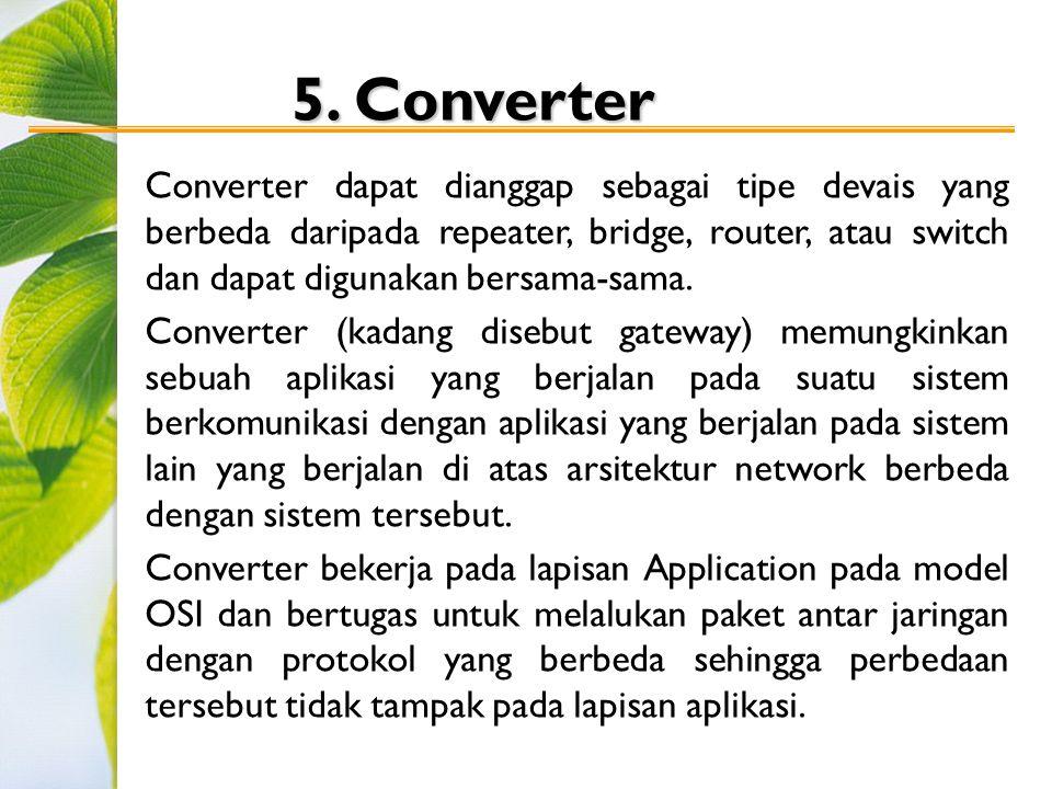 5. Converter