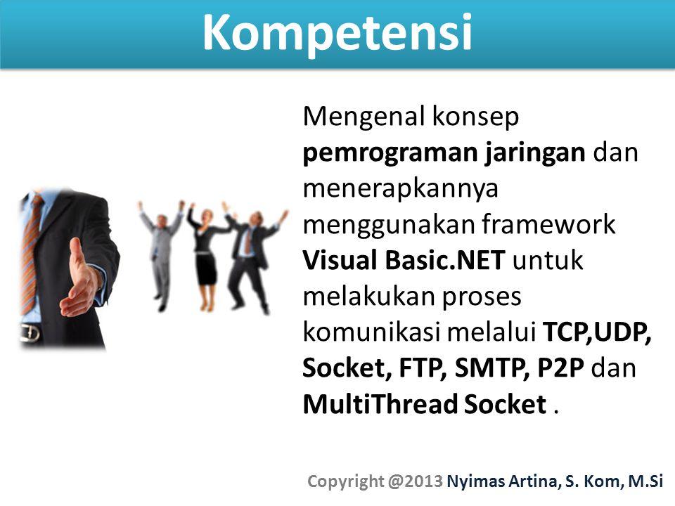 Copyright @2013 Nyimas Artina, S. Kom, M.Si