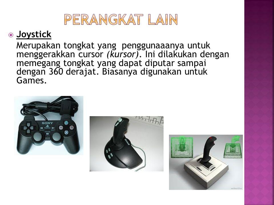 Perangkat lain Joystick