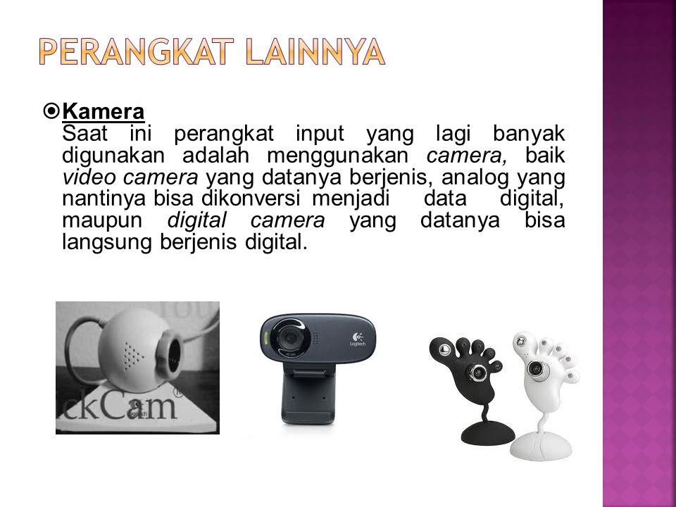 Perangkat lainnya Kamera