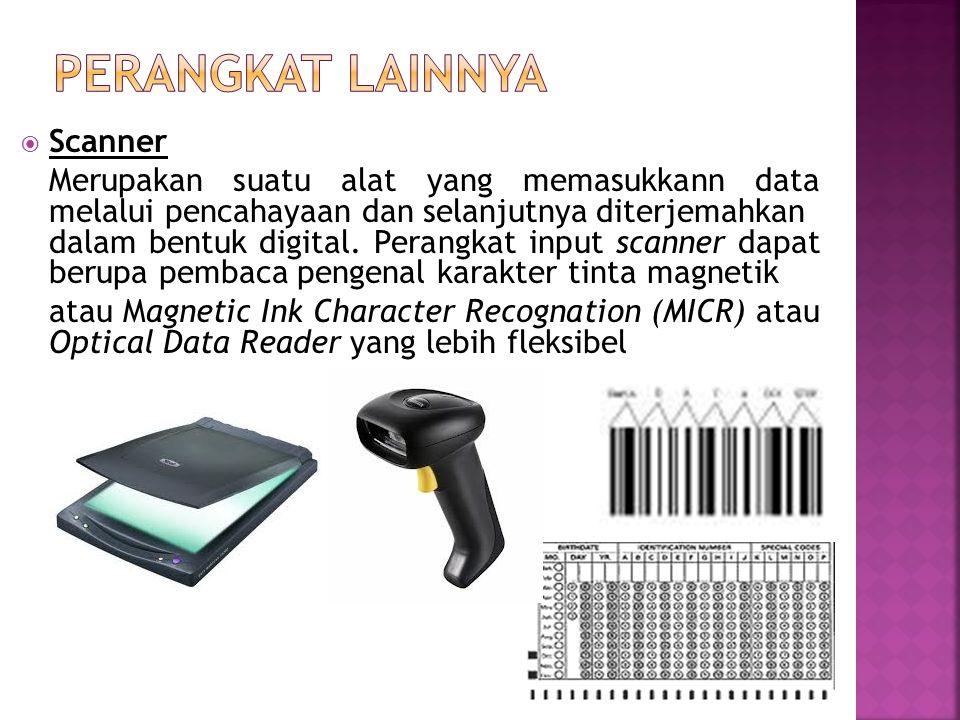 Perangkat lainnya Scanner