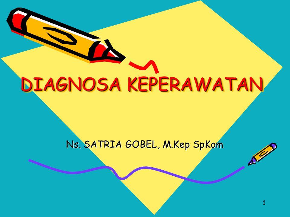Ns. SATRIA GOBEL, M.Kep SpKom