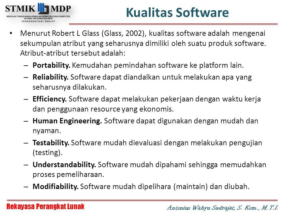 Kualitas Software