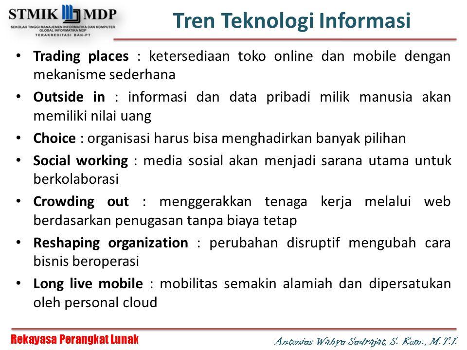 Tren Teknologi Informasi