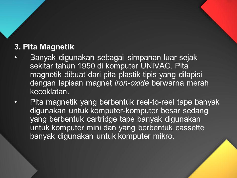 3. Pita Magnetik