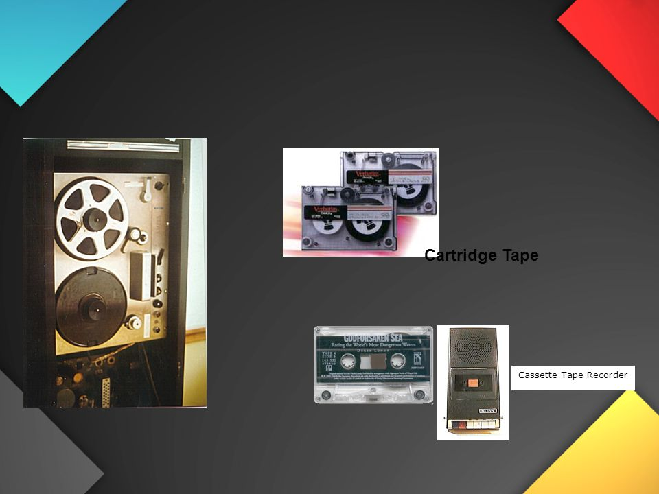 Cartridge Tape Cassette Tape Recorder