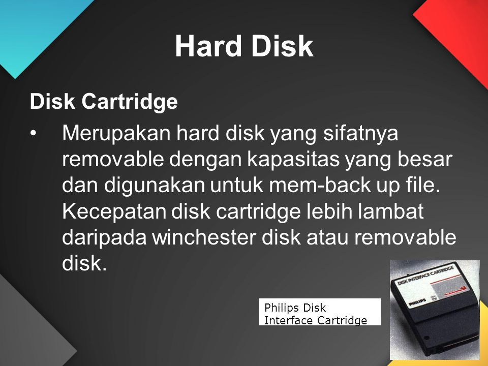 Hard Disk Disk Cartridge