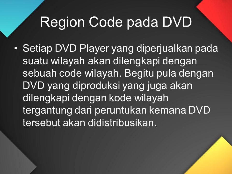 Region Code pada DVD